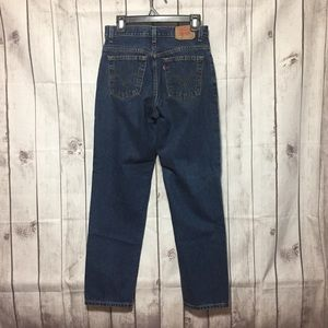 Levis 550 Jeans 10 MIS Relaxed Tapered High Waist